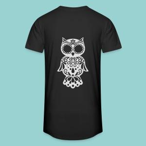 Sugar owl - Männer Urban Longshirt
