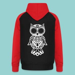 Sugar owl - Unisex Baseball Hoodie
