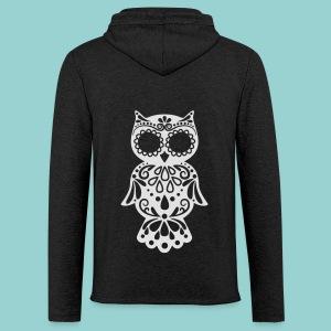 Sugar owl - Leichtes Kapuzensweatshirt Unisex