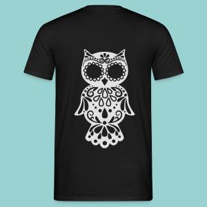 Sugar owl - Männer T-Shirt