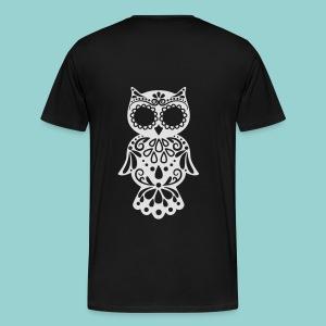 Sugar owl - Männer Premium T-Shirt