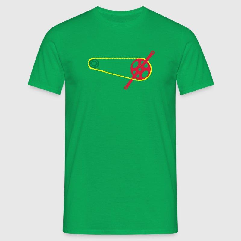 Fahrradantrieb T-Shirts - Männer T-Shirt