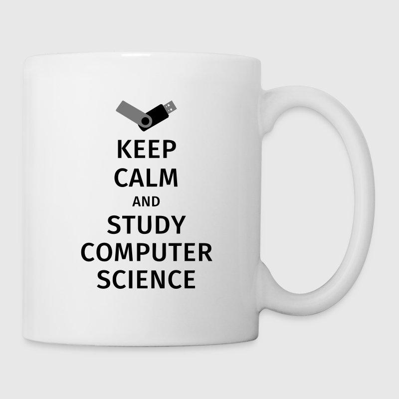 keep calm and study computer science Mugs & Drinkware - Mug