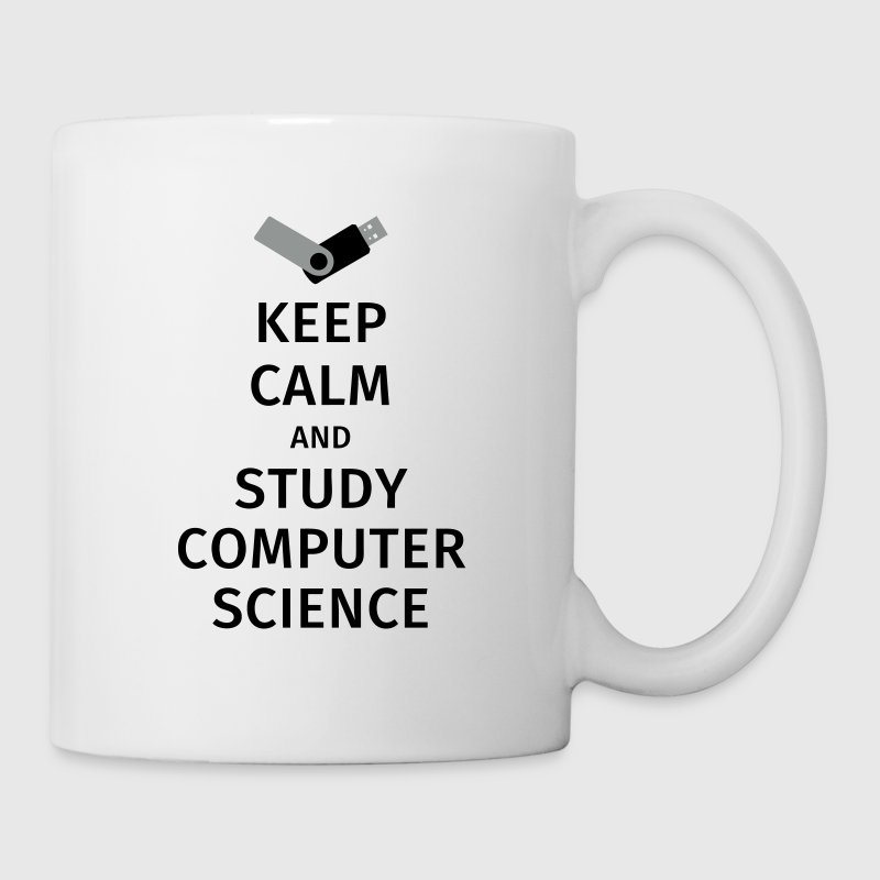 keep calm and study computer science Mugs & Drinkware - Mug