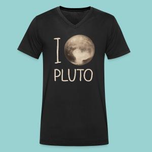 I love Pluto - Männer Bio-T-Shirt mit V-Ausschnitt von Stanley & Stella