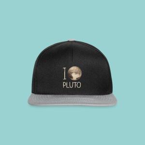 I love Pluto - Snapback Cap