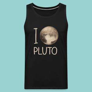 I love Pluto - Männer Premium Tank Top