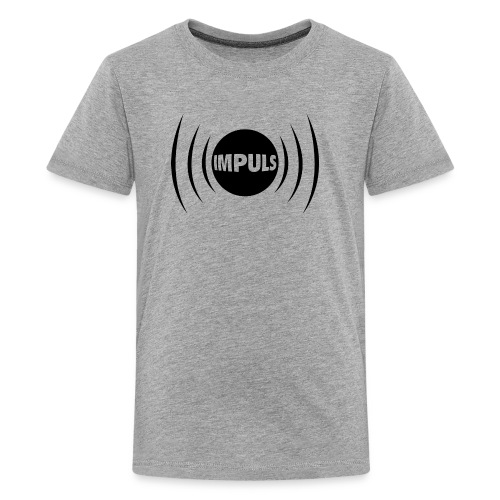 Impuls black - Teenager Premium T-Shirt