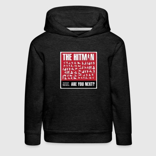 The hitman - are you next - Premium hættetrøje til børn