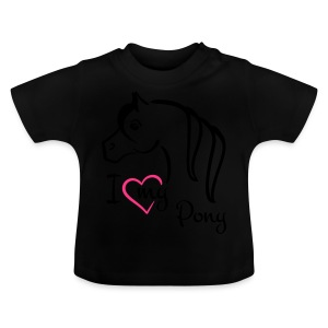 I ♥ my Pony Kindershirt - Baby T-Shirt