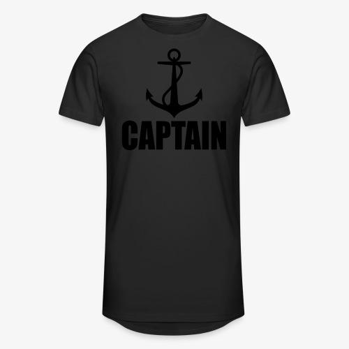 Captain Heimathafen Hamburg Steuermann 1c Männer Shirt  - Männer Urban Longshirt