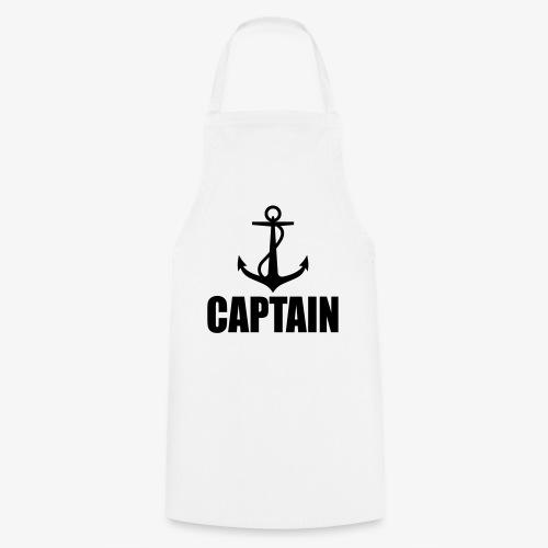 Captain Heimathafen Hamburg Steuermann 1c Männer Shirt  - Kochschürze