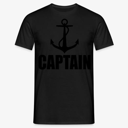 Captain Heimathafen Hamburg Steuermann 1c Männer Shirt  - Männer T-Shirt
