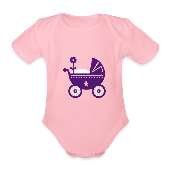Cochecito de Bebé. Babero ecológico bebé