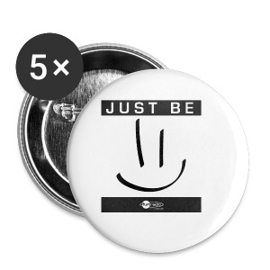 Mug Just Be =) - Badge petit 25 mm