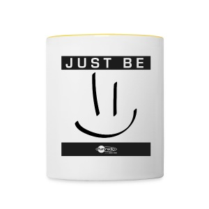 Mug Just Be =) - Tasse bicolore