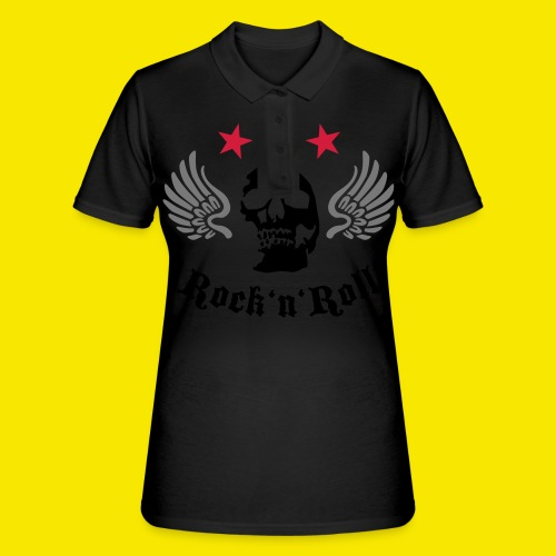 Tshirt rockn'roll - Women's Polo Shirt