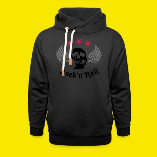 Tshirt rockn'roll - Sweat à capuche cache-cou