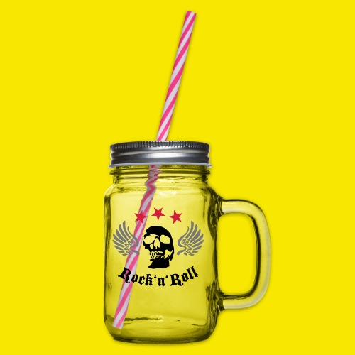 Tshirt rockn'roll - Bocal à boisson