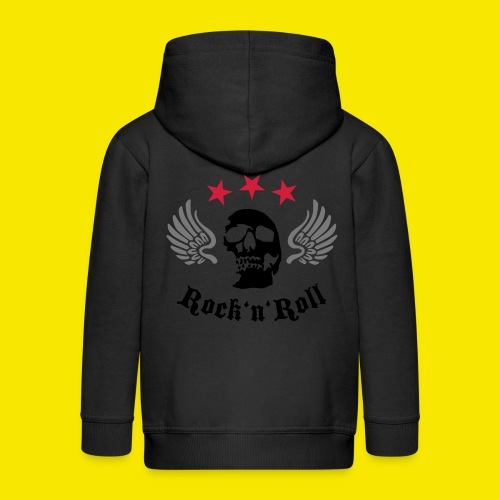 Tshirt rockn'roll - Veste à capuche Premium Enfant