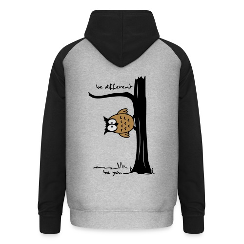 be different!  - Unisex Baseball Hoodie