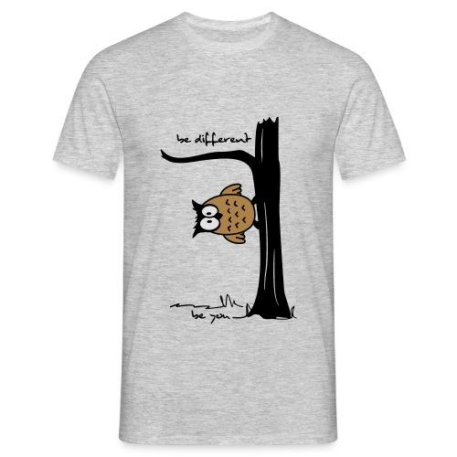 be different!  - Männer T-Shirt