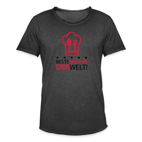 Beste Köchin der Welt! - Männer Vintage T-Shirt