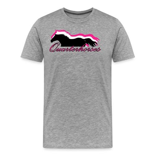 Quarterhorses - Männer Premium T-Shirt