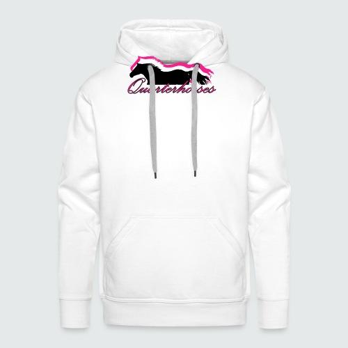 Motiv-186-Quarterhorses - Männer Premium Hoodie