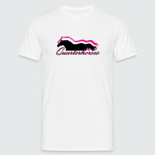 Motiv-186-Quarterhorses - Männer T-Shirt