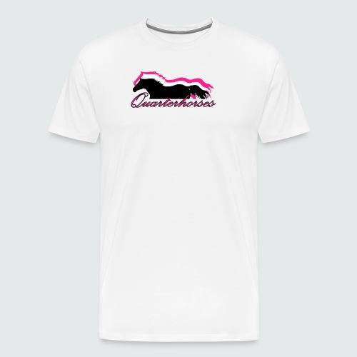 Motiv-186-Quarterhorses - Männer Premium T-Shirt