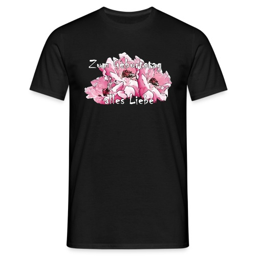 Zum Geburtstag alles Liebe - Männer T-Shirt