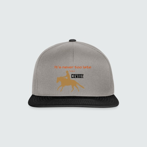 Motiv-185-Navy-Hellblau - Snapback Cap