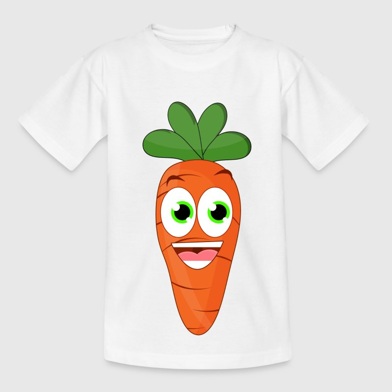 Lustige Karotte / Vegan T-Shirts - Teenager T-Shirt
