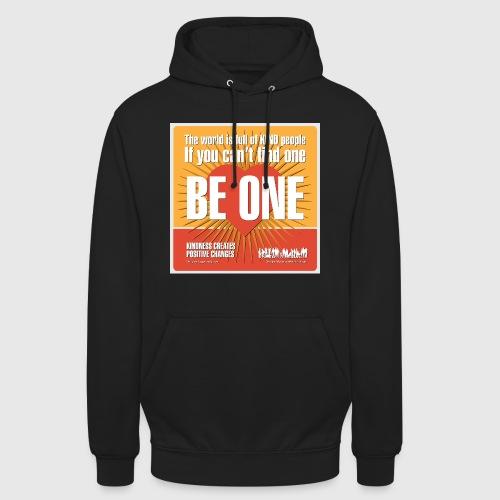 Men - tshirt - Be One - Hættetrøje unisex