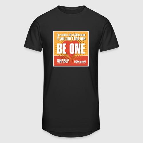 Men - tshirt - Be One - Herre Urban Longshirt