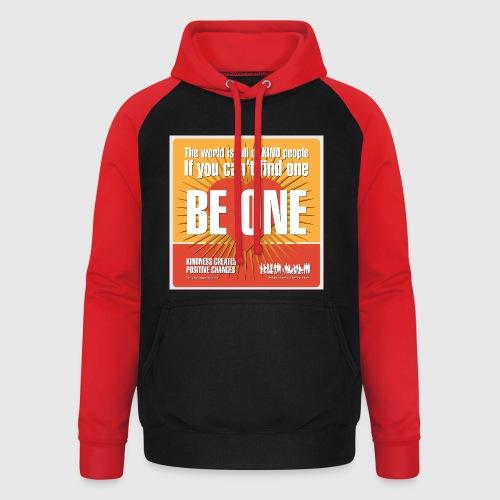 Men - tshirt - Be One - Unisex baseball hoodie