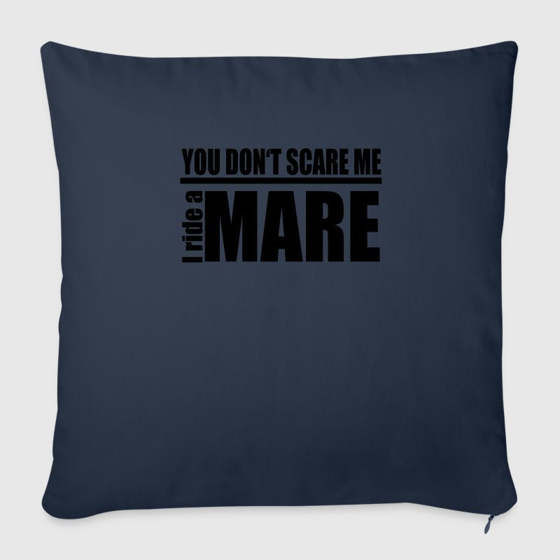 You don't scare me! I ride a mare Other - Sofa pillow cover 44 x 44 cm