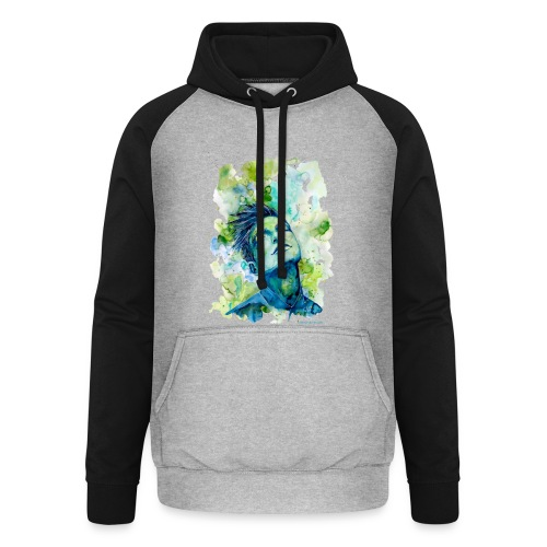 Dash by carographic - Unisex Baseball Hoodie