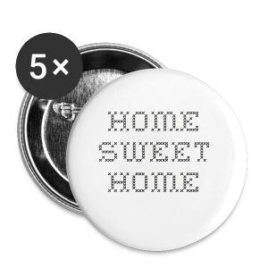 Home Sweet Home - Liten pin 25 mm