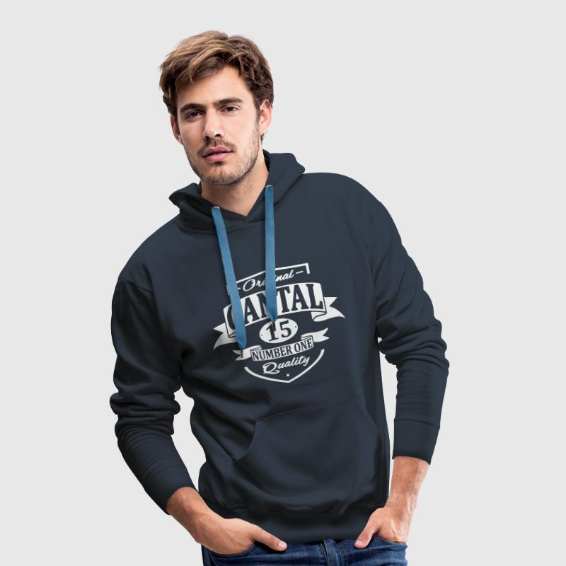Cantal Sweat-shirts - Sweat-shirt à capuche Premium pour hommes