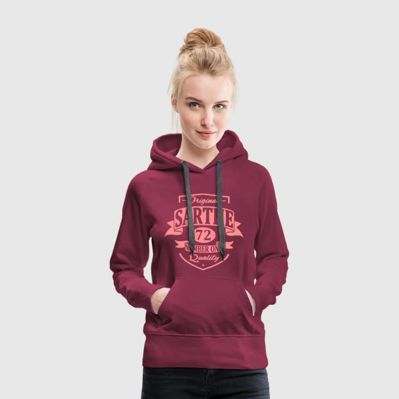 Sarthe Sweat-shirts - Sweat-shirt à capuche Premium pour femmes