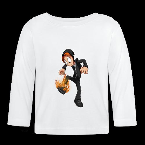 Brændende Sko (unisex) - Langærmet babyshirt