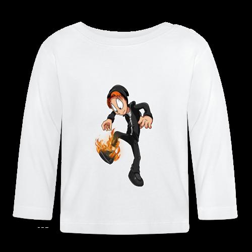 Brændende Sko (PIGER) - Langærmet babyshirt