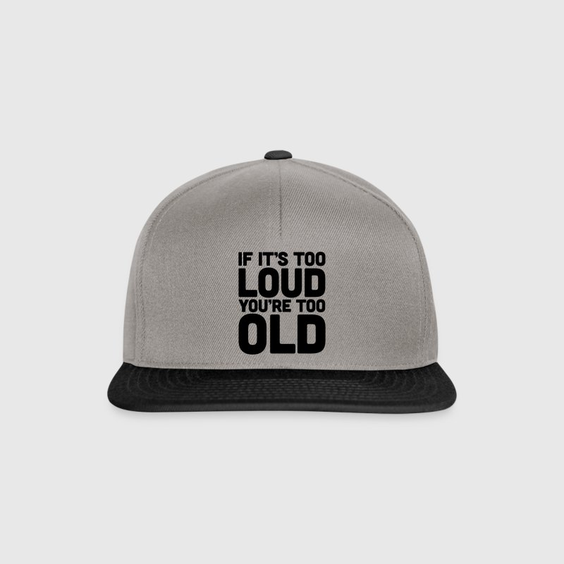 If It's Too Loud Casquettes et bonnets - Casquette snapback