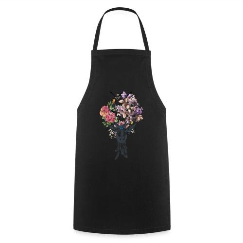 Deer Flower for men V-Col - Tablier de cuisine