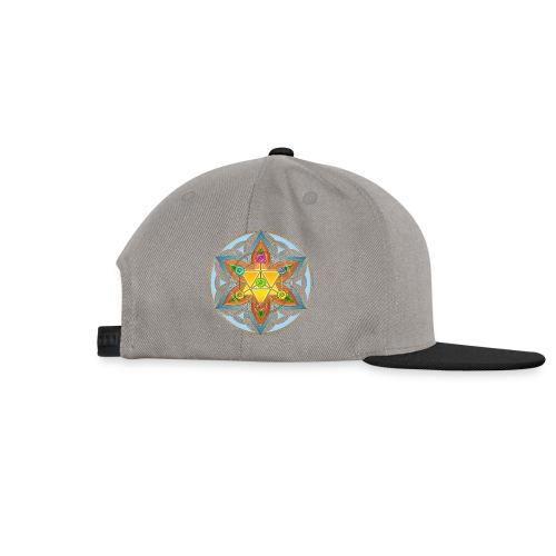 Die Blume des Lebens-Gelb - Snapback Cap