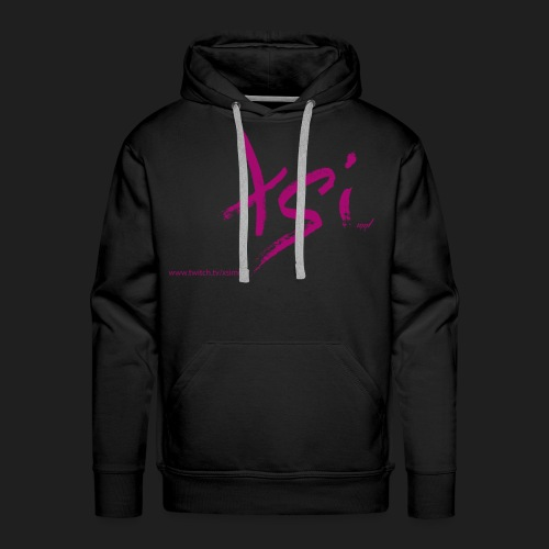 NewLogo Shirt pink - Männer Premium Hoodie