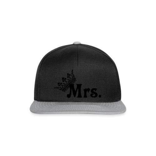 Mrs.- Krone Königen  - Snapback Cap