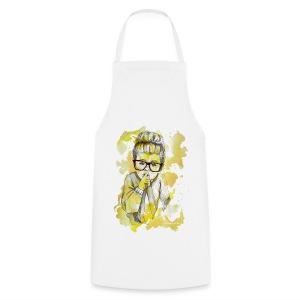 Mädchen mit Nerdbrille by carographic - Kochschürze